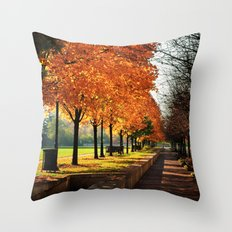 Urban Fall Throw Pillow