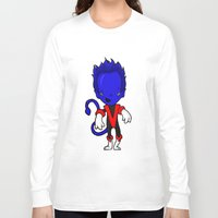 nightcrawler Long Sleeve T-shirts featuring NIGHTCRAWLER by Space Bat designs
