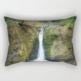 Middle Oneonta Falls Rectangular Pillow