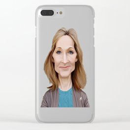 J.K Rowling Clear iPhone Case