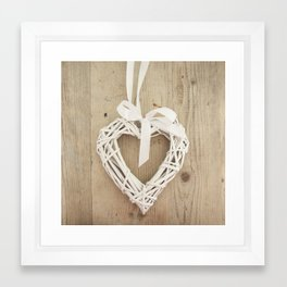 It's Love Framed Art Print