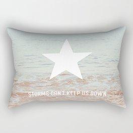 Lone Star Storm Rectangular Pillow