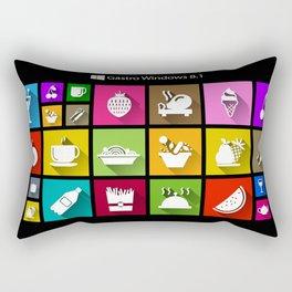 Gastro Windows 8.1 Rectangular Pillow