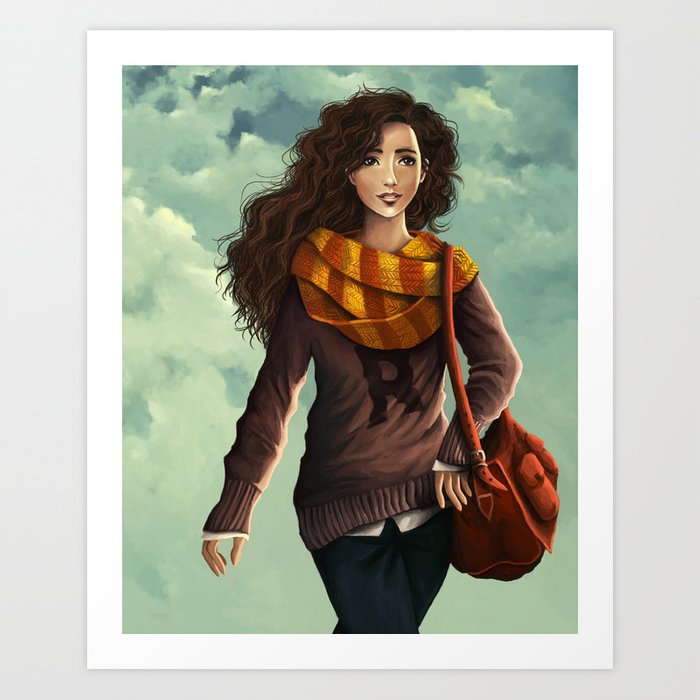 Hermione Granger Art Print By Agartaart  Society6-6498