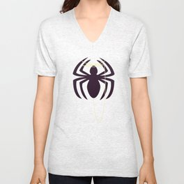 The Amazingly Bored Spider Unisex V-Neck