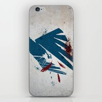 infamous iPhone & iPod Skins featuring inFamous Second Son Good Karma by Kyrsten Carlson