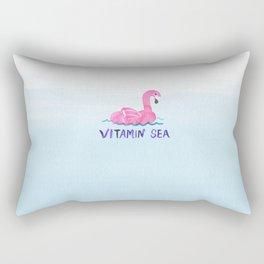 vitamin sea vitamin C love beach summer vibe bird cute hot style new 2018 2019 blue wave seas ocean Rectangular Pillow