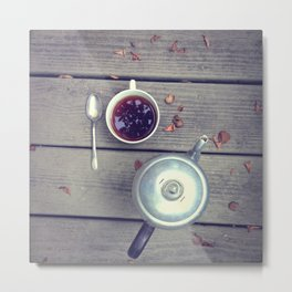 Morning Perk Metal Print