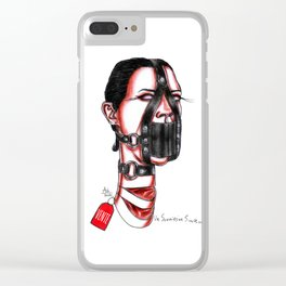 Sweet Submission Clear iPhone Case
