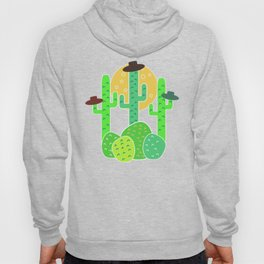 Cacti with hats Hoody