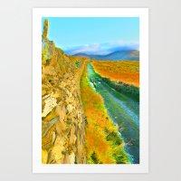 Mountain Walk. Art Print