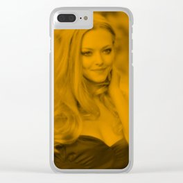 Amanda Seyfried - Celebrity Clear iPhone Case