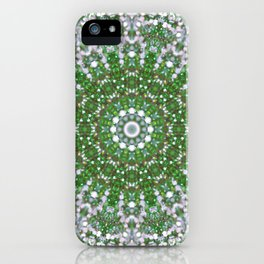 Her Mermaid Sea Kaleido Green iPhone Case