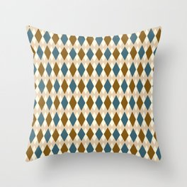 Tiles from the past Throw Pillow