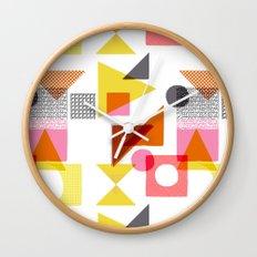 PlayBlocks Wall Clock