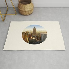 Empire State Building Rug