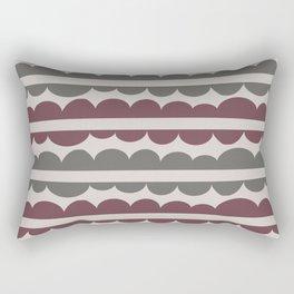 Mordidas Wine Rectangular Pillow