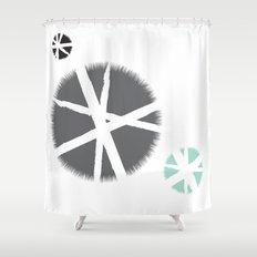 poufs Shower Curtain