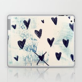 Black Hearts Laptop & iPad Skin