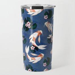 Japanese carps Travel Mug