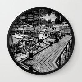 Oslo Wharf Wall Clock