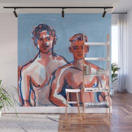 Faces: Duet 4 Wall Mural