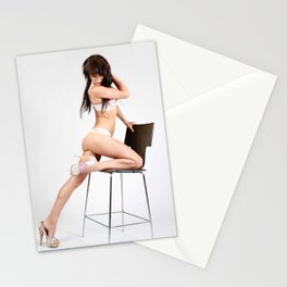 Sexy 60s Chair Stationery Cards