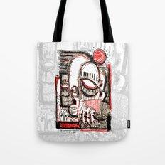 Red Dwarf - b&w Tote Bag