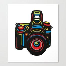 Black Camera Canvas Print