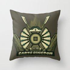Avatar Nations Series - Earth Kingdom Throw Pillow