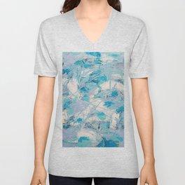 Abstract Light Unisex V-Neck