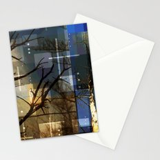 Posterize Dead Trees Stationery Cards