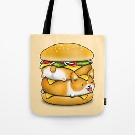 Double Corgi Pounder Tote Bag