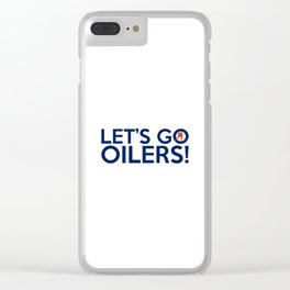 Edmonton Oilerss Quotes Clear iPhone Case