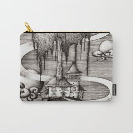 House on a hill Carry-All Pouch