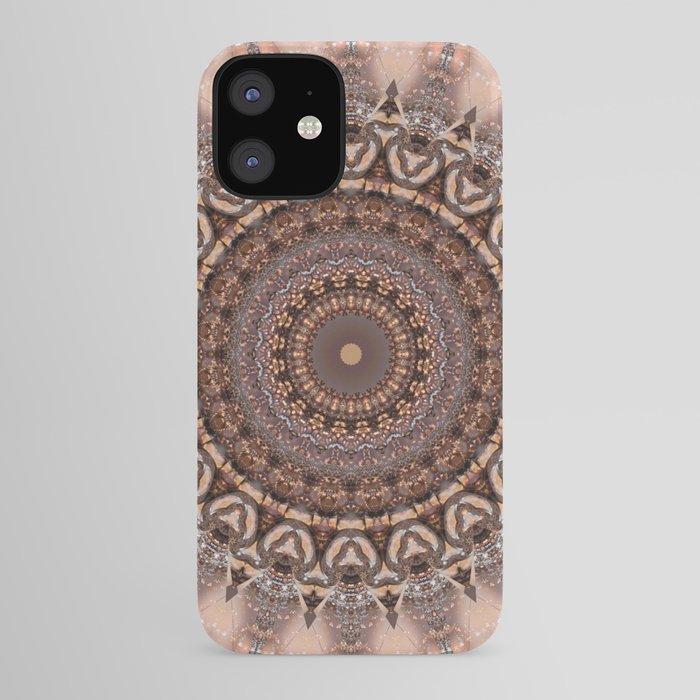 Mandala romantic pink iPhone Case