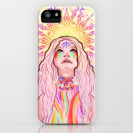 Just put those colors on, girl iPhone Case