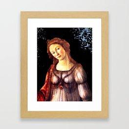 """Sandro Botticelli """"Primavera"""" detail Framed Art Print"""