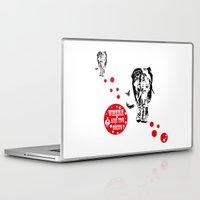elephants Laptop & iPad Skins featuring elephants by ASZIP JAPAN