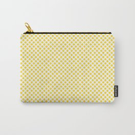 Vibrant Yellow Polka Dots Carry-All Pouch