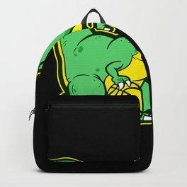 Dinosaur Motif Lovers Gift Idea Design Backpack