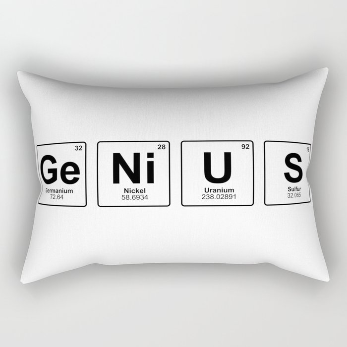 Genius Rectangular Pillow