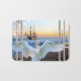 In the sunset beach c Bath Mat