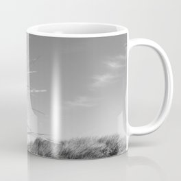 Monochromatic Sand dunes at Fistral Beach. Coffee Mug