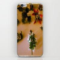 santa iPhone & iPod Skins featuring santa by gasponce