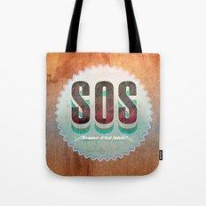 S O S Tote Bag