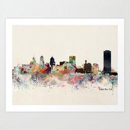 buffalo city new york Art Print