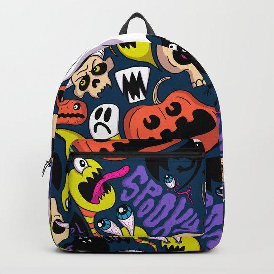 Spooky Pattern Backpack