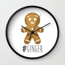 #Ginger Wall Clock
