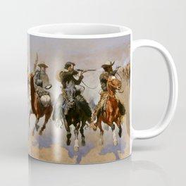 "Frederic Remington Western Art ""Dash For The Timber"" Coffee Mug"
